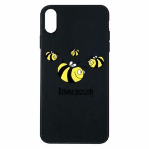 Etui na iPhone Xs Max Dziwne pszczoły
