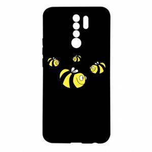 Etui na Xiaomi Redmi 9 Dziwne pszczoły