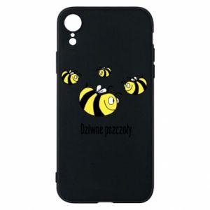 Etui na iPhone XR Dziwne pszczoły