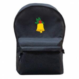 Plecak z przednią kieszenią Dzwon