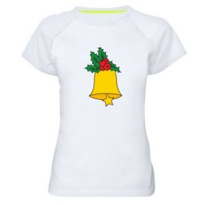 Koszulka sportowa damska Dzwon