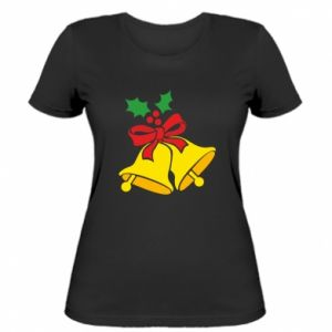 Women's t-shirt Christmas bells