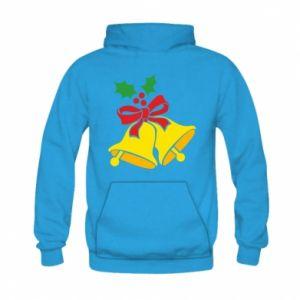 Kid's hoodie Christmas bells