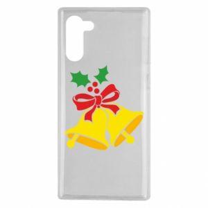 Samsung Note 10 Case Christmas bells