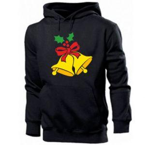 Men's hoodie Christmas bells