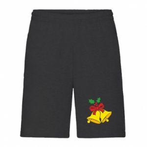 Men's shorts Christmas bells