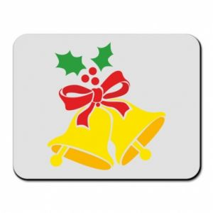 Mouse pad Christmas bells