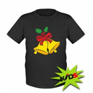 Kids T-shirt Christmas bells