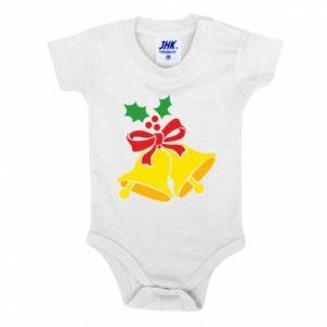 Baby bodysuit Christmas bells