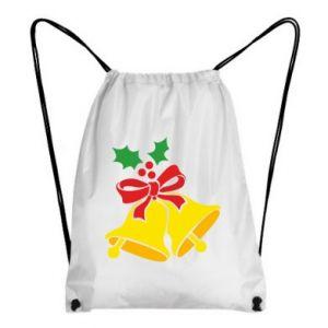 Backpack-bag Christmas bells