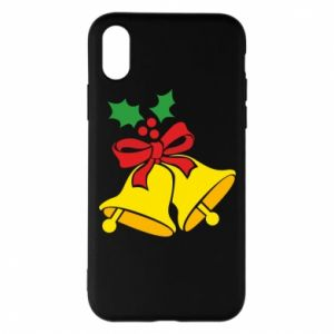 Phone case for iPhone X/Xs Christmas bells