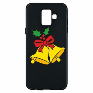Phone case for Samsung A6 2018 Christmas bells