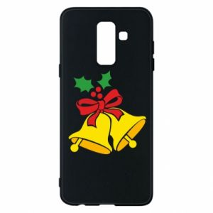 Phone case for Samsung A6+ 2018 Christmas bells