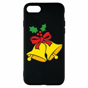 Phone case for iPhone 8 Christmas bells