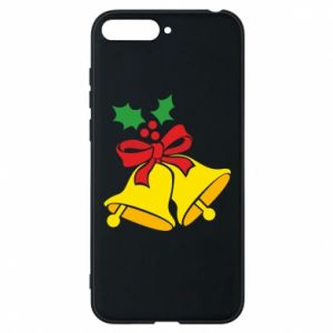Phone case for Huawei Y6 2018 Christmas bells