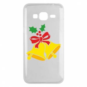 Phone case for Samsung J3 2016 Christmas bells