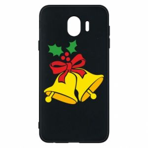 Phone case for Samsung J4 Christmas bells