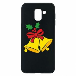 Phone case for Samsung J6 Christmas bells