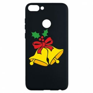 Phone case for Huawei P Smart Christmas bells
