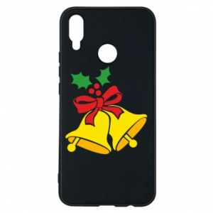 Phone case for Huawei P Smart Plus Christmas bells