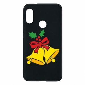 Phone case for Mi A2 Lite Christmas bells