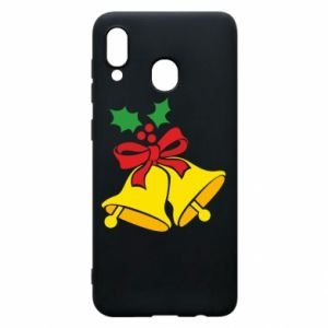 Phone case for Samsung A20 Christmas bells