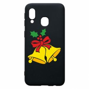 Phone case for Samsung A40 Christmas bells