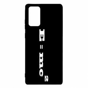 Samsung Note 20 Case E = mc2