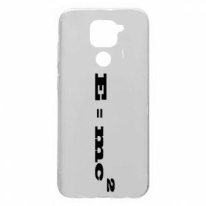 Xiaomi Redmi Note 9 / Redmi 10X case % print% E = mc2