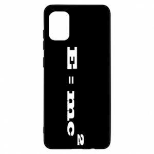 Samsung A31 Case E = mc2