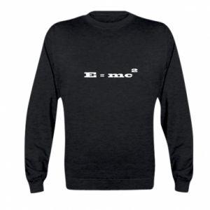 Kid's sweatshirt E = mc2