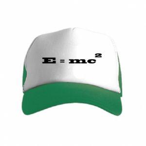 Kid's Trucker Hat E = mc2