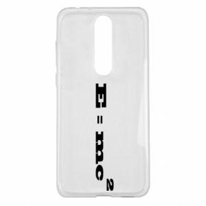 Nokia 5.1 Plus Case E = mc2