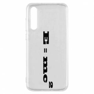 Huawei P20 Pro Case E = mc2