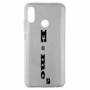 Huawei Honor 10 Lite Case E = mc2