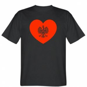 T-shirt Eagle in the heart