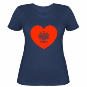 Women's t-shirt Eagle in the heart