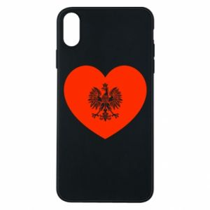 Etui na iPhone Xs Max Eagle in the heart