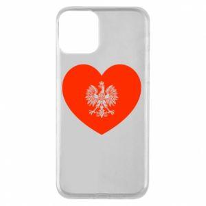 Etui na iPhone 11 Eagle in the heart