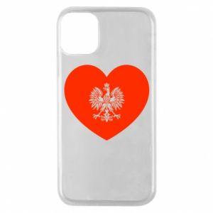 Etui na iPhone 11 Pro Eagle in the heart