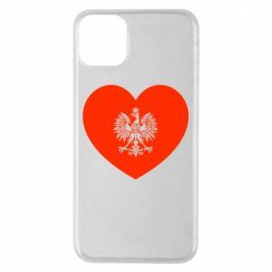 Etui na iPhone 11 Pro Max Eagle in the heart