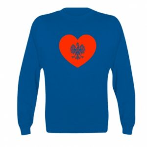 Bluza dziecięca Eagle in the heart