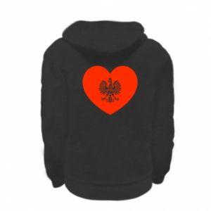 Bluza na zamek dziecięca Eagle in the heart