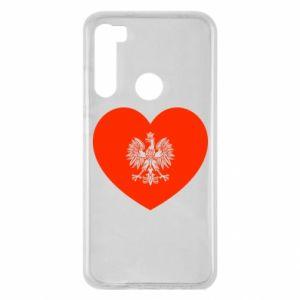 Etui na Xiaomi Redmi Note 8 Eagle in the heart