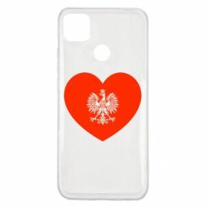 Etui na Xiaomi Redmi 9c Eagle in the heart