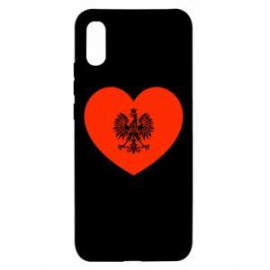 Etui na Xiaomi Redmi 9a Eagle in the heart