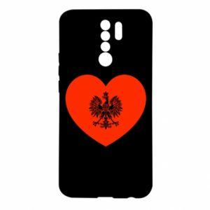 Etui na Xiaomi Redmi 9 Eagle in the heart