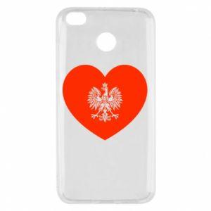 Etui na Xiaomi Redmi 4X Eagle in the heart