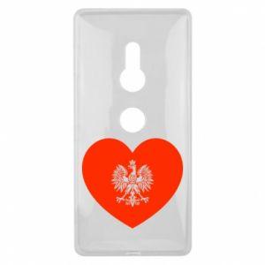 Etui na Sony Xperia XZ2 Eagle in the heart