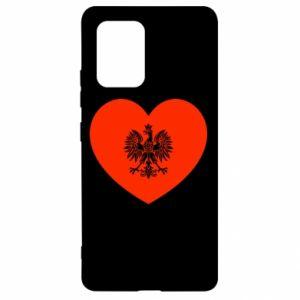 Etui na Samsung S10 Lite Eagle in the heart
